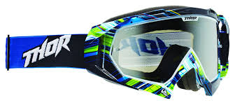 mirrored motocross goggles thor hero wrap goggles revzilla