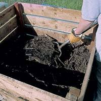 How To Make A Compost Pile In Your Backyard by Turning Your Compost