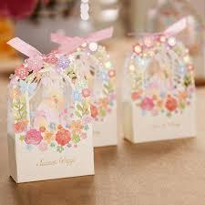 wedding gift box shop 10pcs flower engagement laser cut sweet