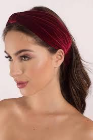 velvet headband pippa burgundy velvet headband 11 tobi us