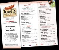 german cuisine menu karl s sausage kitchen and european market one bourbon