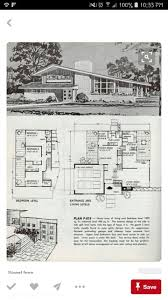 Stahl House Floor Plan by 822 Best Houses Mcm And Ranch Images On Pinterest Vintage