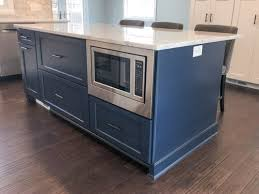 navy blue kitchen cabinets with black handles the best knobs and pulls for your blue cabinets trubuild