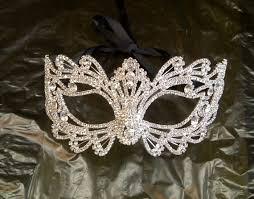 rhinestone masquerade masks rhinestone masquerade mask masquerade wedding by bingcheri