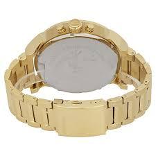 diesel mr daddy 2 0 gold tone dial men u0027s chronograph watch dz7399