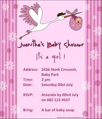 collection of thousands of free baby shower invitation from all