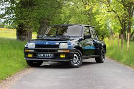 renault 5 1982 renault 5 turbo classic driver market