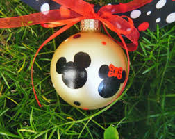 disney ornaments etsy