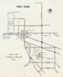 Elyria Ohio Map by Cleveland Public Square Lake Shore Rail Maps