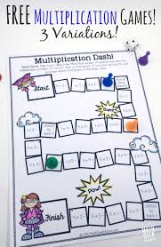 spiral easy way to practice multiplication for kids