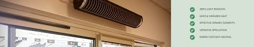 ceiling patio heaters no glare electric patio heaters infrared heaters direct