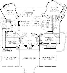 houses with 2 master bedrooms plans luxury house design plans and designs houses with 2 master