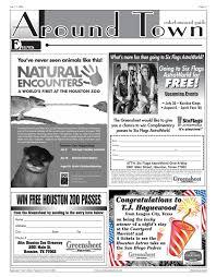 Six Flags Address Greensheet Houston Tex Vol 36 No 250 Ed 1 Friday July 1