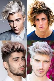 list of boys hairstyles the biggest men s hair trends for 2017 fashionbeans