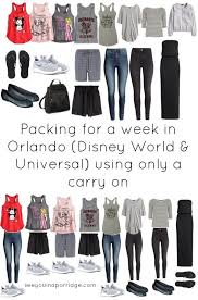what to pack for your vacation in disney orlando florida page 3