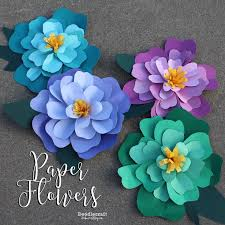 Make Your Own Paper Flowers - 205 best images about diy paper flowers ideas template and