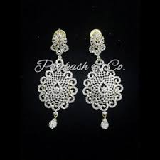 diamond earrings price american diamond designer earrings manufacturer from mumbai