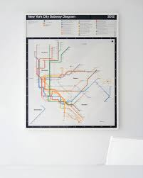 Mexico City Subway Map by Signed Vignelli 2012 Nyc Subway Diagrams Now Available