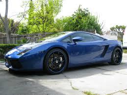 Lamborghini Gallardo Blue - 2006 lamborghini gallardo blu fontus metallic distinctiv detailing
