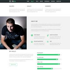 Free Creative Resume Template Psd 20 Free Psd Portfolio And Resume Website Templates 2017 Colorlib