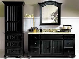 Vanity With Storage Bathroom Ideas Double Sink Modern Black Bathroom Vanity With
