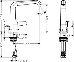 Axor Faucet Axor Bouroullec Single Lever Basin Mixer 180