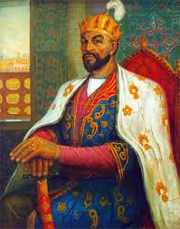 Ottoman Emperors Uma Das Estátuas De Tamerlão Em Tashkent Nascido Nos Domínios Do