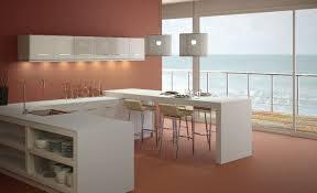 plan de cuisine moderne cuisine plan de travail en îlot de cuisine moderne clair en
