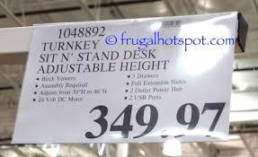 tresanti sit stand desk costco costco sit stand desk damescaucus com
