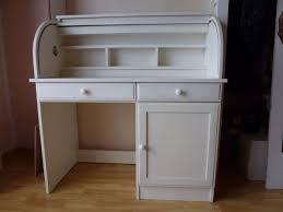 image de secretaire au bureau bureau secretaire blanc clasf 6 secr taire pin massif tiroirs made
