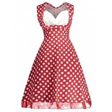 vintage halter polka dot pin up dress black l in vintage dresses