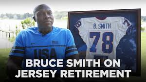 bills legend bruce smith on his jersey retirement sbnation com