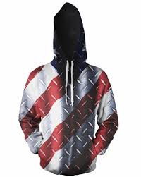 digital printed american flag hoodies camo american flag hoodie