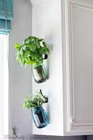 hanging herb mason jars vintage mason jars fresh herbs and herbs