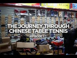 table tennis store near me stiga presents the journey through chinese table tennis episode 1