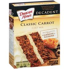 ots de cuisine duncan hines decadent carrot cake mix 21 41 oz box