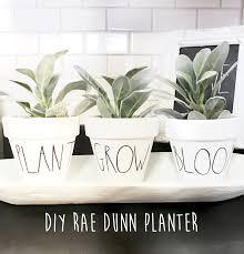 fowler cottage diy rae dunn planter