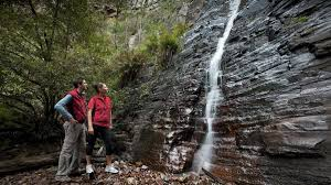 silver band silverband falls walk attraction grians australia
