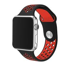 silicone strap bracelet images Sport silicone band for apple watch strap soft rubber wrist strap jpg