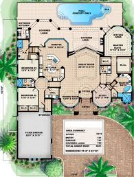 mediterranean style floor plans mediterranean style house plan 3 beds 3 50 baths 3313 sq ft plan