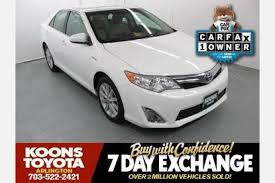 toyota camry hybrid for sale by owner used toyota camry hybrid for sale in washington dc edmunds
