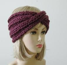 knit headbands diy easy knit turban headband crafthubs headbands ear