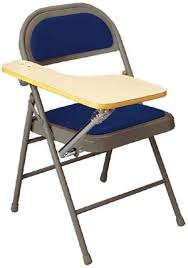 Officemax Student Desk Interesting Folding Chair Desk With Folding Chair With Tablet Arm