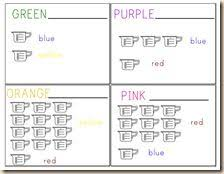 48 best kindergarten colors images on pinterest kindergarten