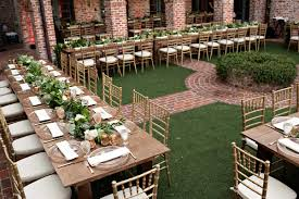 casa feliz outdoor wedding reception table setup kristen weaver