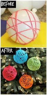 how to make christmas yarn balls new year info 2018