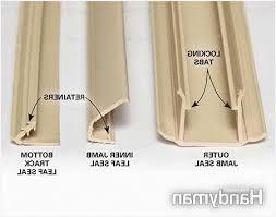 Patio Door Weather Stripping Sliding Patio Door Weatherstripping Impressive Design Easti