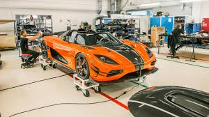 koenigsegg orange video a tour of koenigsegg u0027s factory top gear