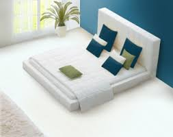 buy venus white faux leather double bed 8