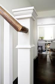 Stair Base Molding by Staircase Makeover